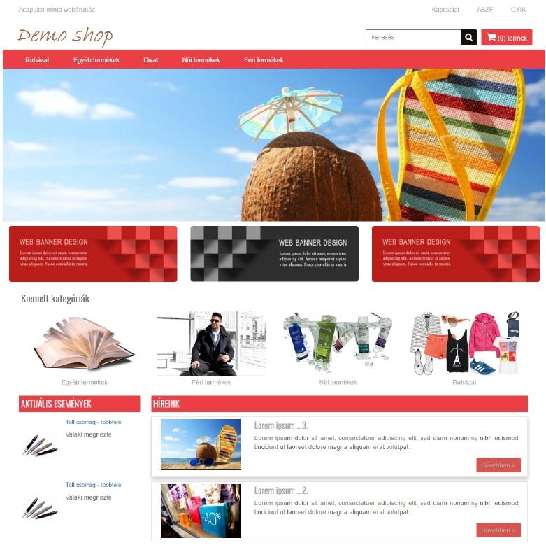 Acapulco webdesign